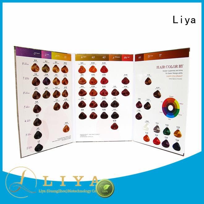 economical hair dye colors chart needed for hair salon