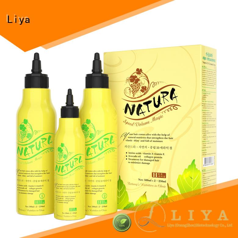 Liya permed lotion manufacturer for hairdressing