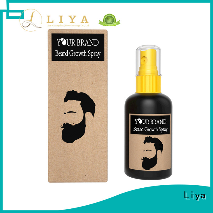 Liya beard growth products suitable for men