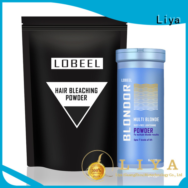 Liya convenient hair color products needed for hairdressing