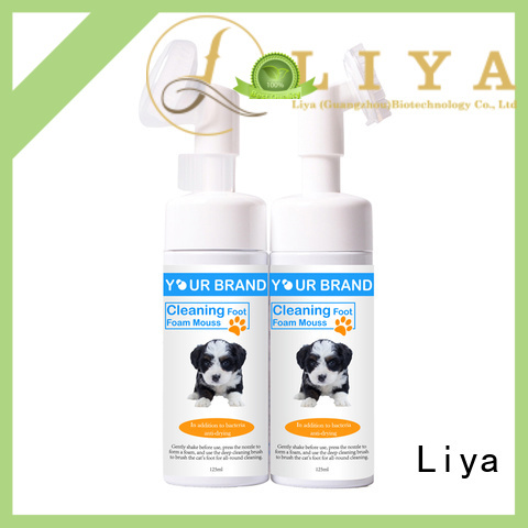 Liya dog shampoo needed for pet