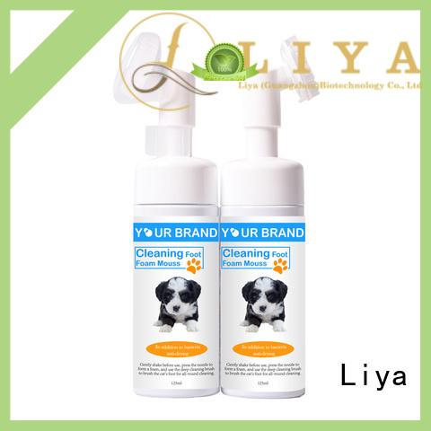 Liya dog shampoo needed for pet