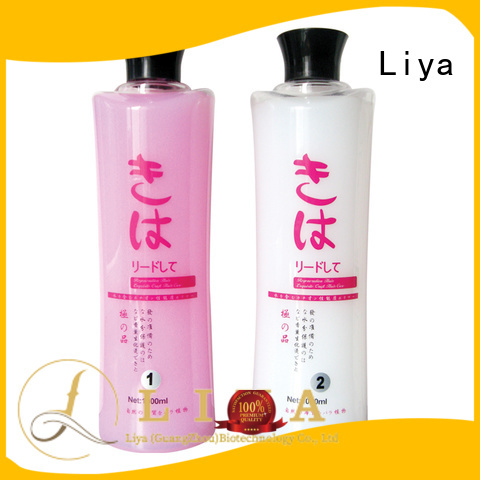 Liya useful perm lotion widely used for hair treatment