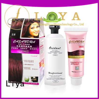 hair color products nice user experience for hair salon