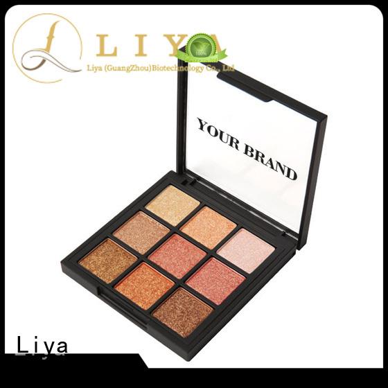 Liya professional eye shadow products suitable for eye makeup