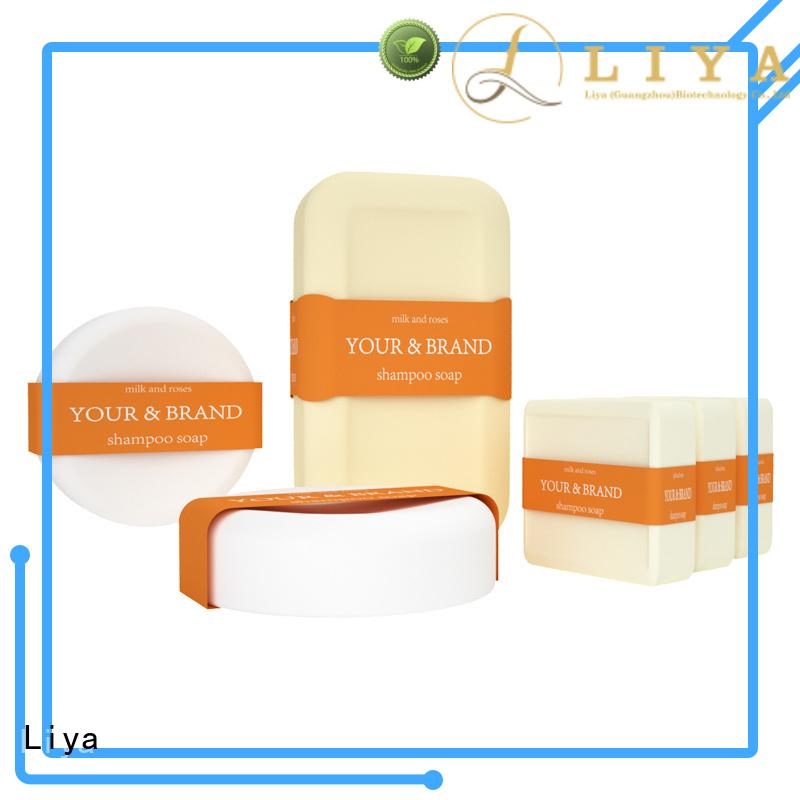 Liya professional hair shampoo bar perfect for hair salon