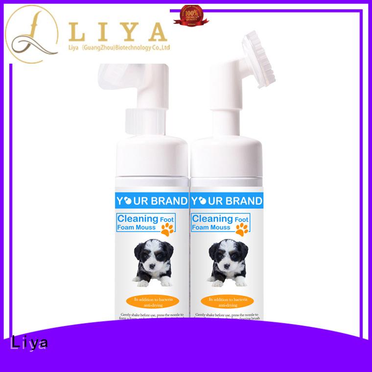 Liya pet shampoo manufacturer for pet care