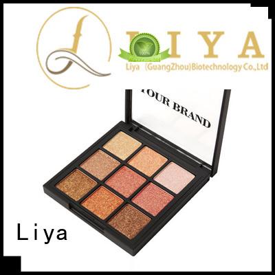 Liya easy to use glitter eyeshadow palette make up