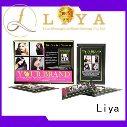 black hair dye hair salon Liya