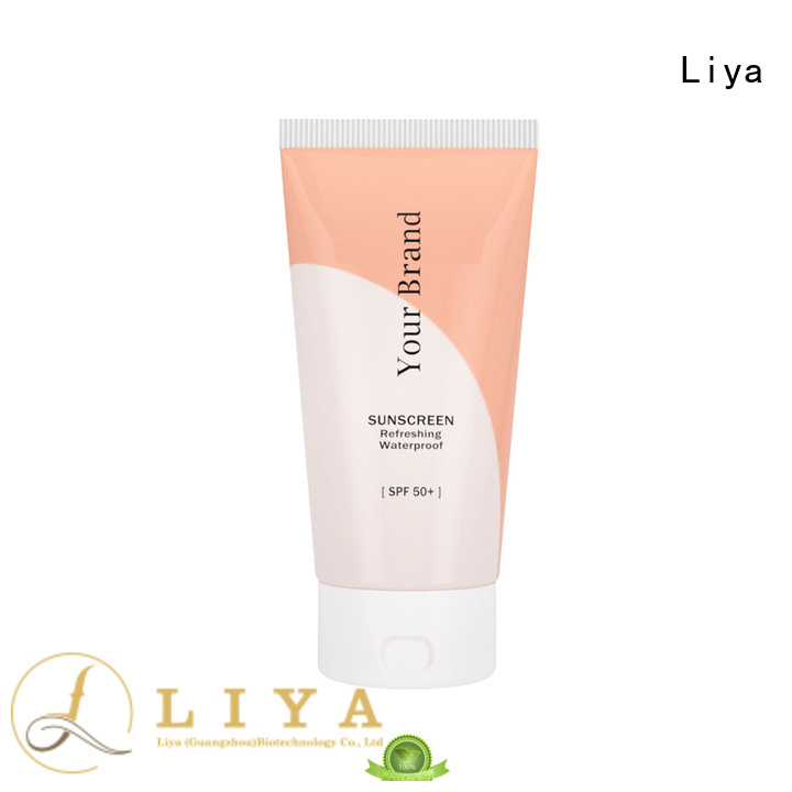Liya OEM sunscreen cream factory for face care