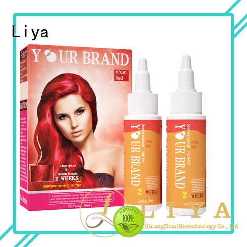 Liya economical professional hair color widely employed for hairdressing