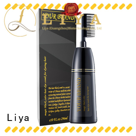 Liya professional hair dye companies widely employed for hair stylist
