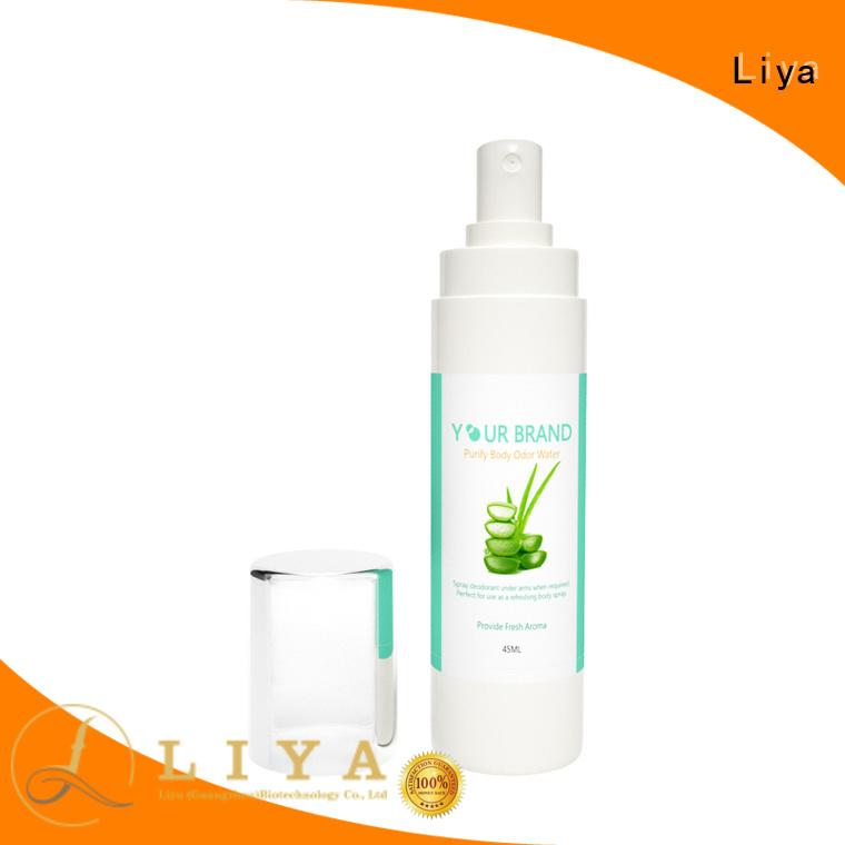 Liya OEM rose perfume manufacturer for persoanl care