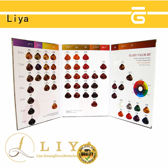 good quality hair dye colors chart widely applied for hair salon