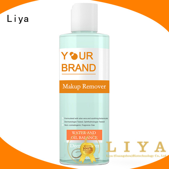 Liya make up remover