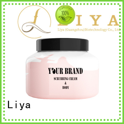 Liya economical body scrub great for face care