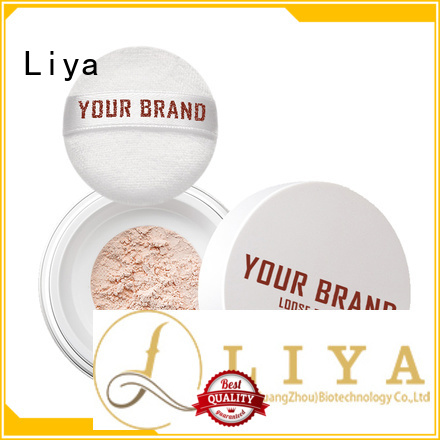 Liya professional loose powder oil control of face