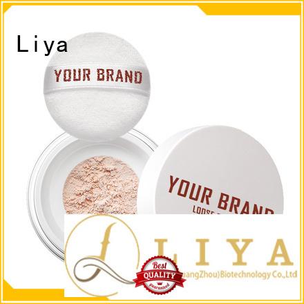 Liya professional loose powder oil control of face
