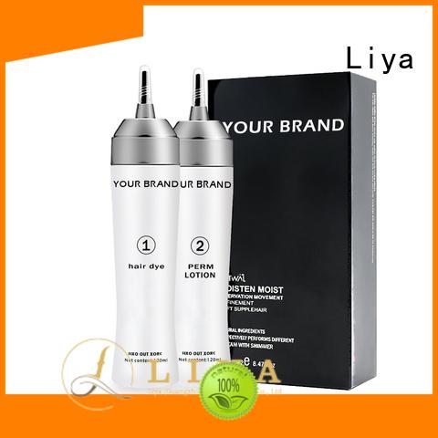 Liya hair perming cream excellent for hair shop