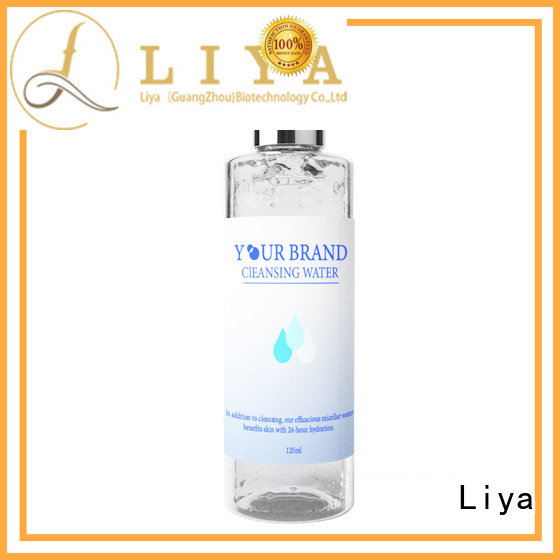 Liya customized water based cleanser widely used for