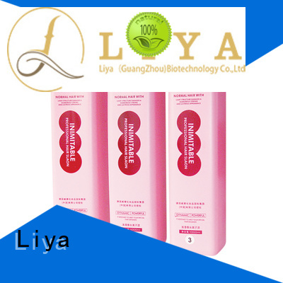 Liya perm lotions manufacturer for hair treatment