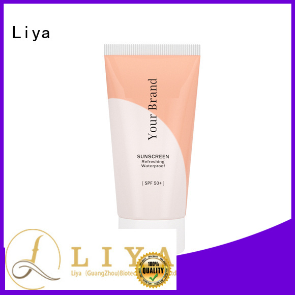 Liya good quality sunscreen lotion best choice for face care