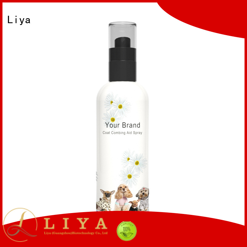 Liya puppy shampoo nice user experience for pet